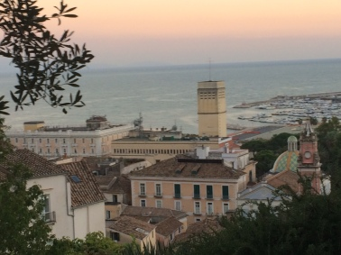 Salerno - the view from the Medical Garden