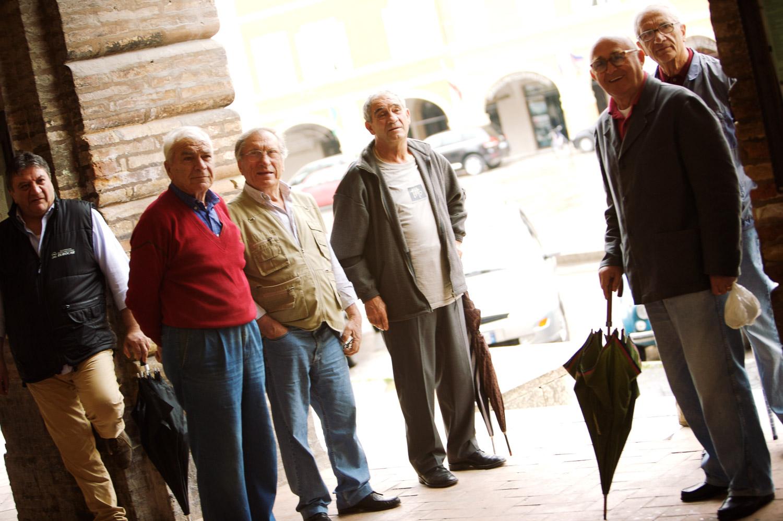 The gentlemen of San Severino Marche