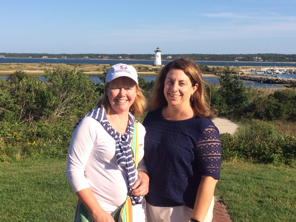 Janet and Nicole - friends together on Martha's Vineyard