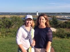 Janet and Nicole, Edgartown