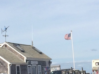 A breezy day at Menemsha