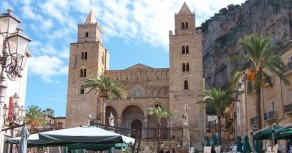 The Cathedral of Cefalu dates from the 11th century