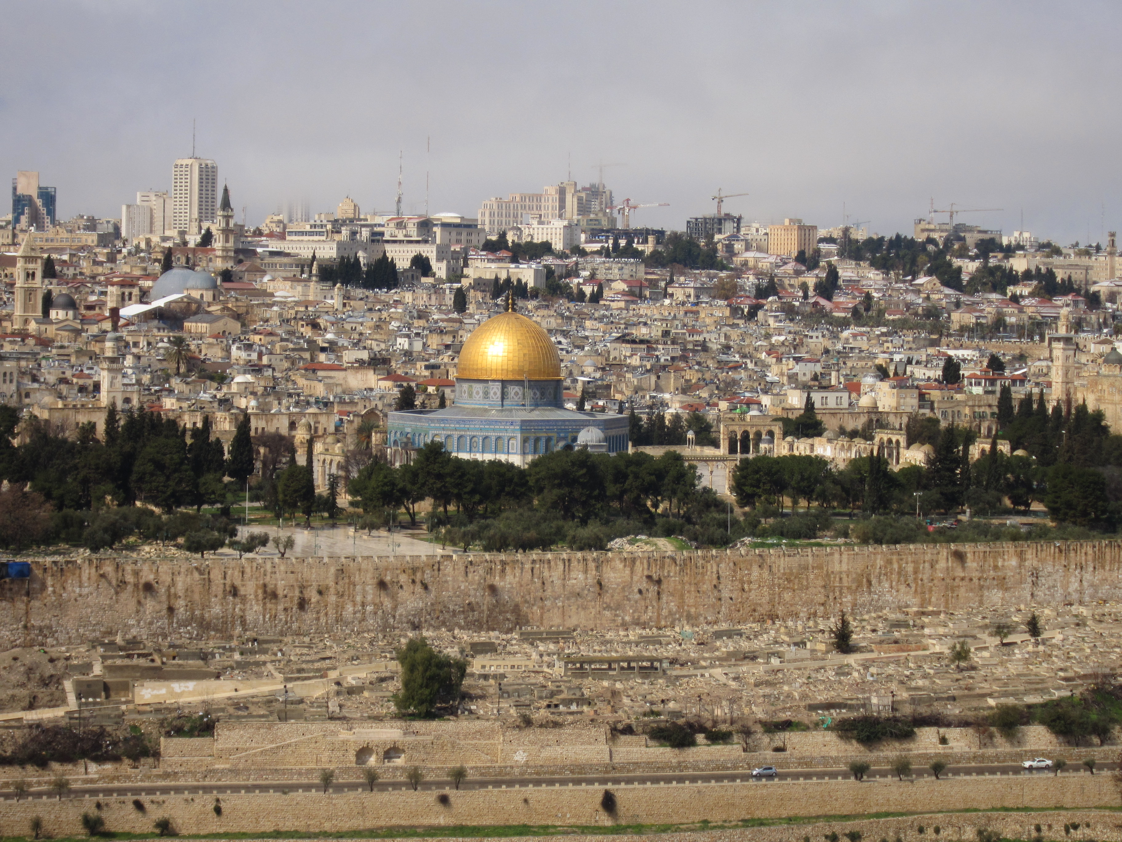 Jerusalem - Dome of the Rock (from east)
