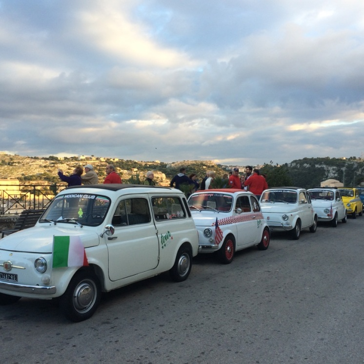Modica - Fiat 500 convention