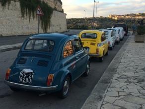 Modica - Fiat 500s now halt!