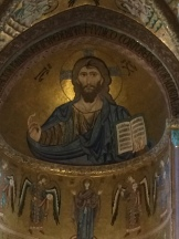 Mosaic of Christ 'Pantocrator' All powerful creator