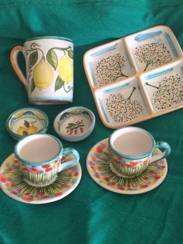 Taormina ceramics