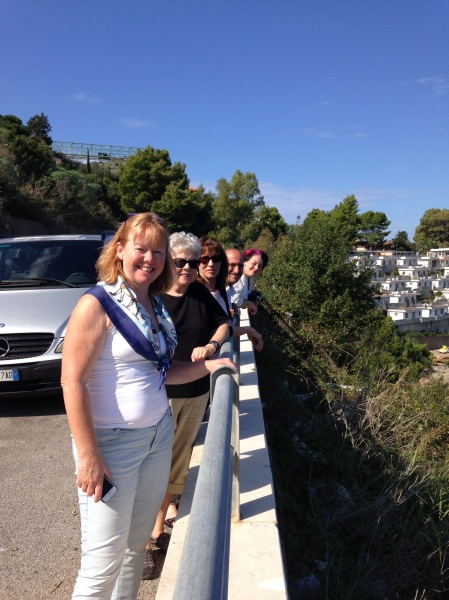 On the road to Taormina - Sicily October, 2015