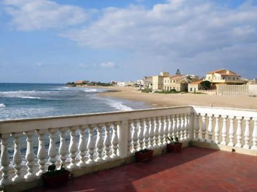 View from Montalbano's house at Punta Secca