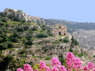 Approaching the village of Scicli, Sicily