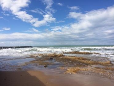 The sea at Punta Secca, Montalbano's back yard!
