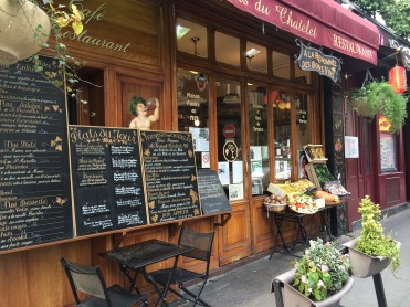 Typical Paris Bistro