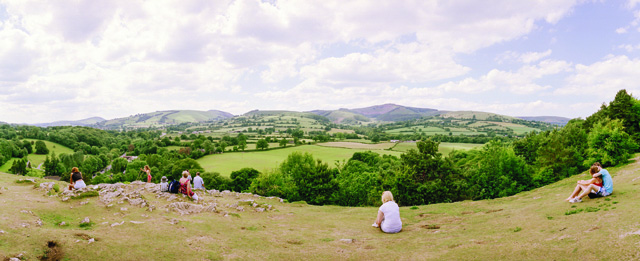 Tom Wood (photographer). North Wales panorama