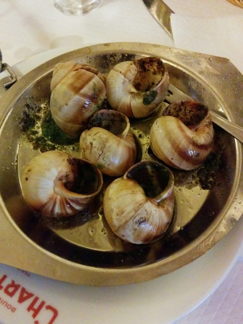 Les escargots - with garlic and parsley