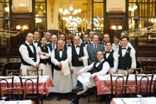 The finest professional waiters