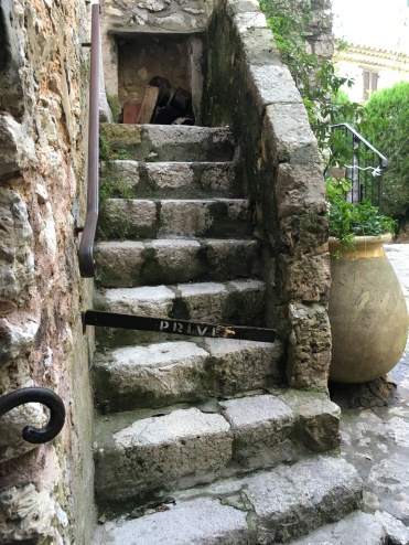 Eze Village - these stones have seen some feet over the years!