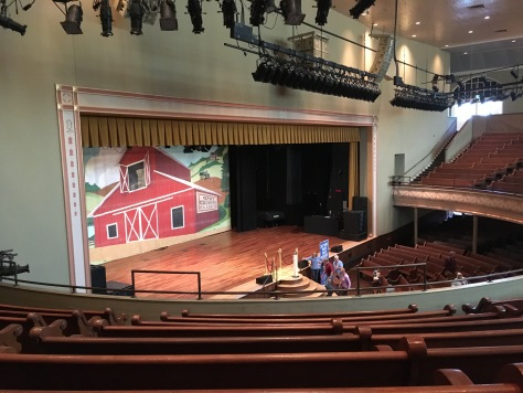 The Grand Ole Opry Stage