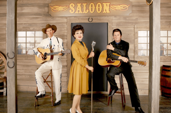 Hank Williams, Patsy Cline, Johnny Cash at Madame Tussauds