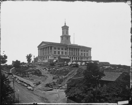 The State House, Nashville - 1864