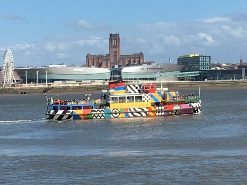 Dazzle Ferry and Anglican Cathedral