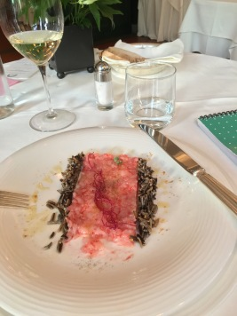 Gamberi crudi - raw prawns for dinner