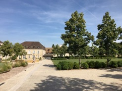 The square at Puligny Montrachet