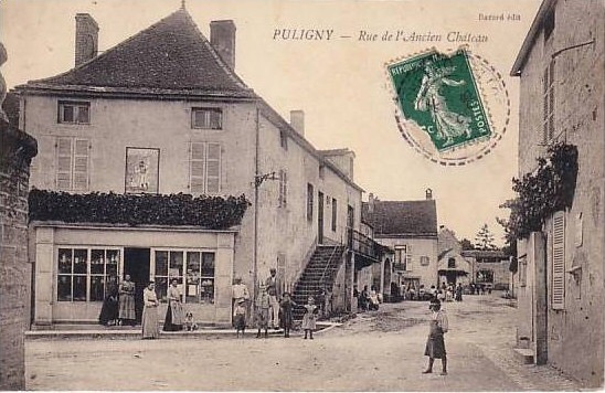 Puligny at the turn of the century
