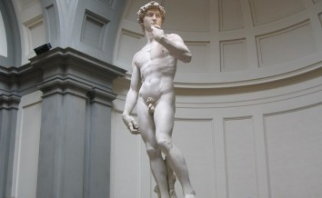 Michelangelo's David - completed 1504