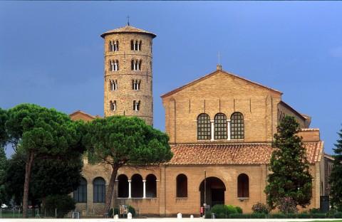 Church of Sant'Apollinare in Classe, near Ravenna