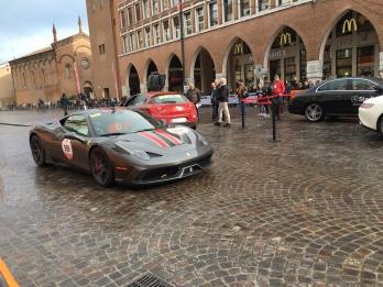 Ferrari arrives in Ferrara, Mille Miglia 2016