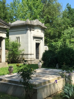 Family Mausoleum in the Jewish Cemetery