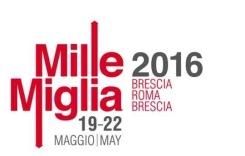 Mille Miglia Poster 2016