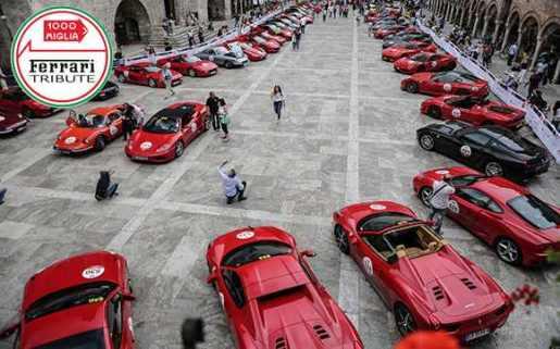 Ferrari Tribute - Brescia, 2016 Mille Miglia