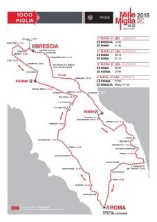 Mille Miglia Route 2016