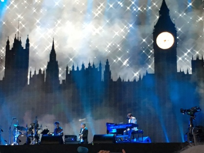 London Skyline - Carole King on stage