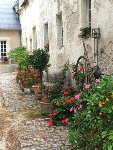 Courtyard at Villesavin