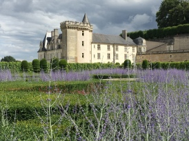 Villandry - gardens and chateaux