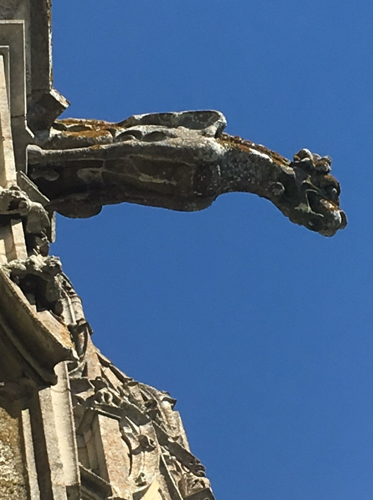 Chartres Cathedral Gargoyle