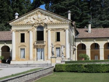 Villa Barbaro at Maser - south facing facade of Palladian villa