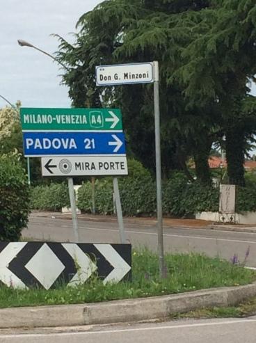 Mira Porte, located on the Navaglio Brenta