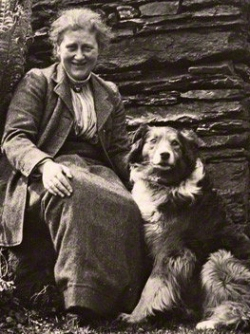 Beatrix Potter, photo by Charles King (1913)