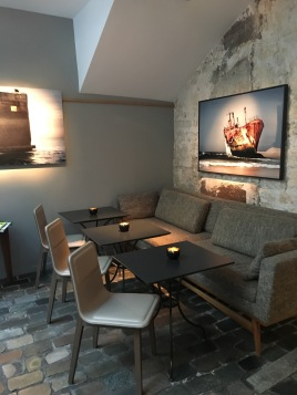 The super stylish lounge and bar