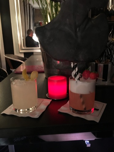 Cocktails at Club Raye