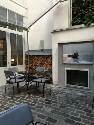 The Courtyard - Jules et Jim, Paris