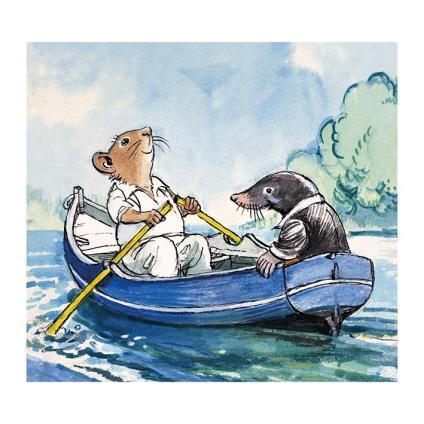 Ratty and Mole - artist Phillip Mendoza