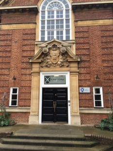 St Hugh's College - entrance