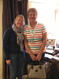 Mandy Marshall with Janet Simmonds
