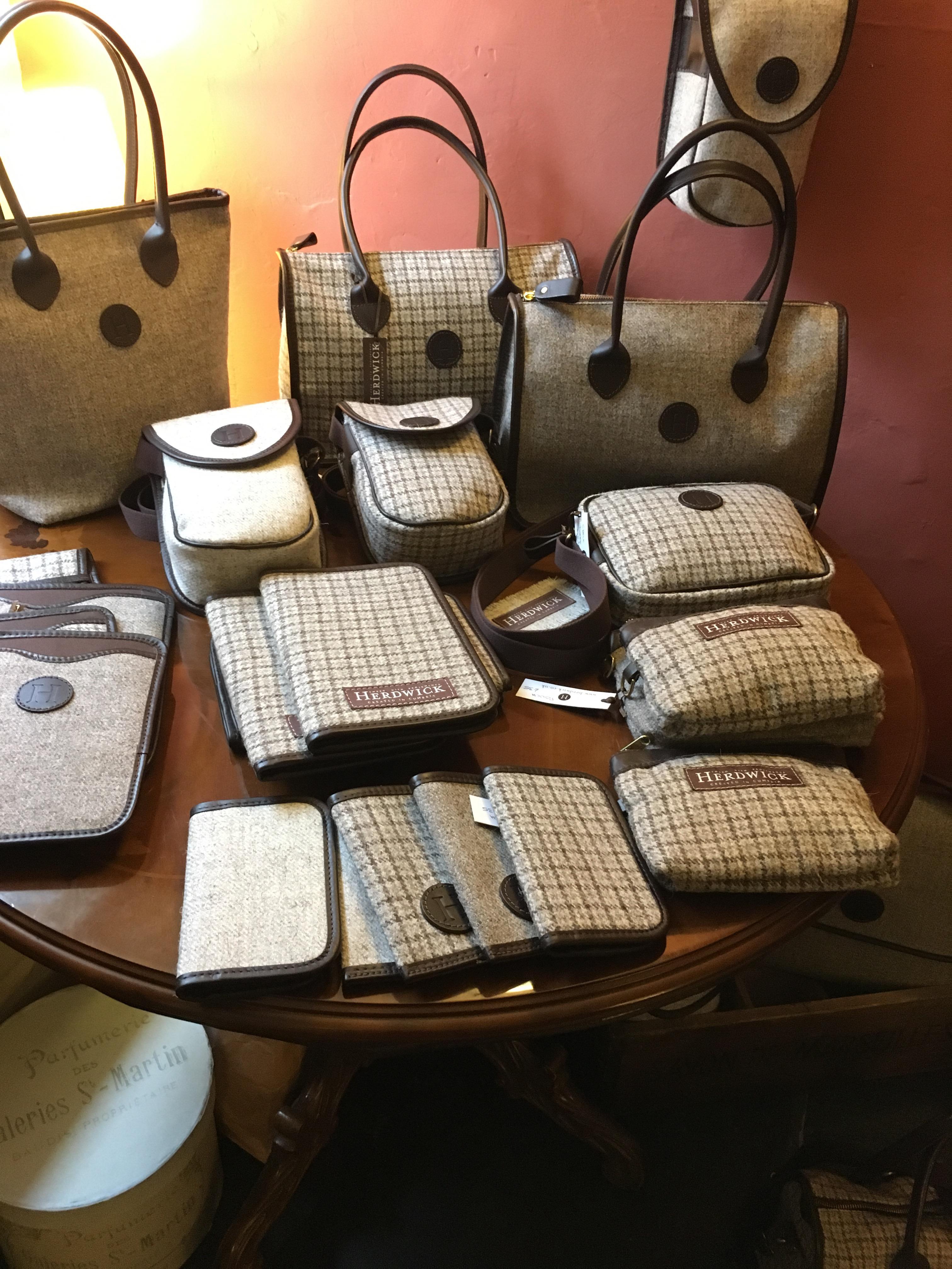 Herdwick handbags and wallets by Mandy Marshall, English Lake District