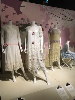 Beautifully embroidered lace dresses for a hot summer's day.........