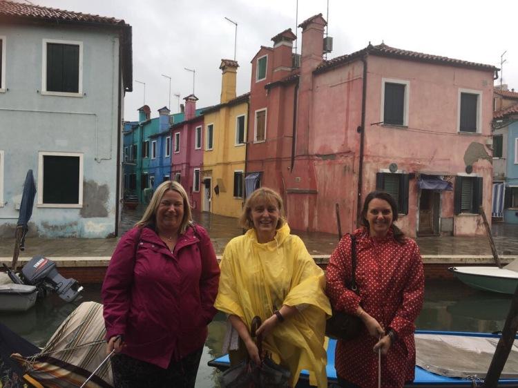 Burano in the rain